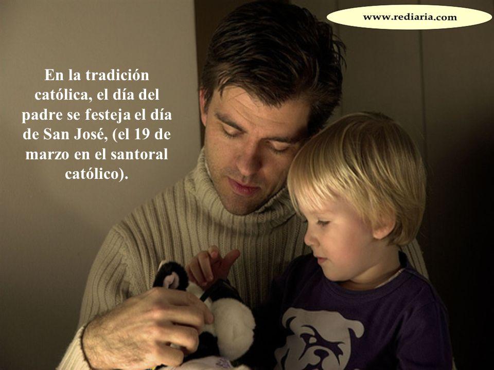 En gran parte del mundo, se ha establecido un Día del Padre para honrar a los padres o antepasados masculinos.