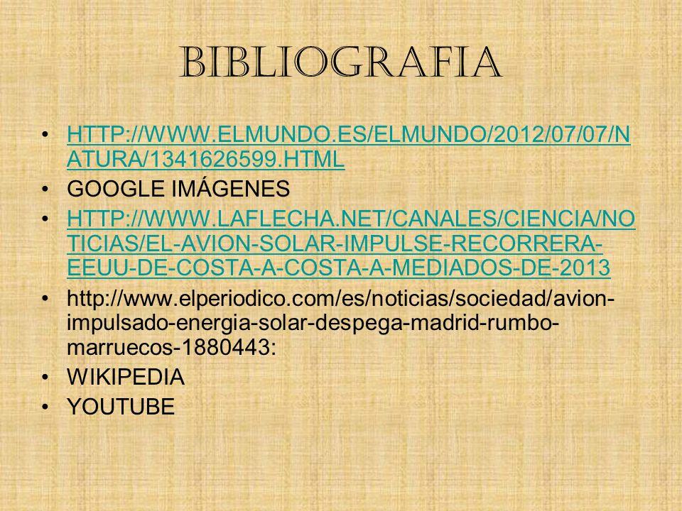 BIBLIOGRAFIA HTTP://WWW.ELMUNDO.ES/ELMUNDO/2012/07/07/N ATURA/1341626599.HTMLHTTP://WWW.ELMUNDO.ES/ELMUNDO/2012/07/07/N ATURA/1341626599.HTML GOOGLE I