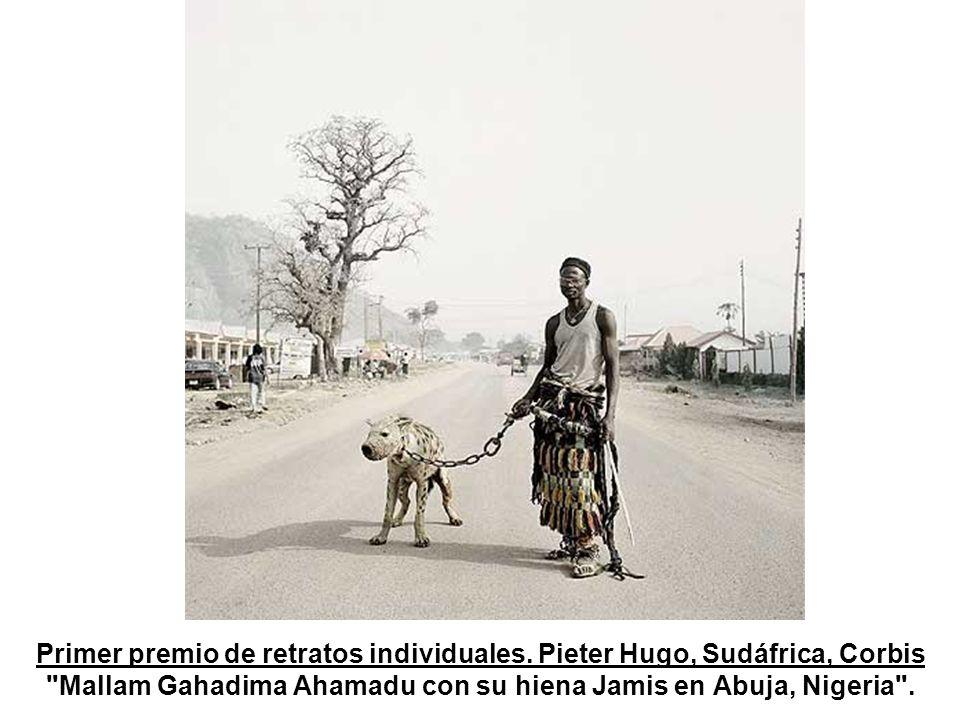 2º premio de Retratos de la World Press Photo De un veterano de la Segunda Guerra Mundial realizada por el holandés Martin Roemers para la Hollandse Hoogte/Laif Photos & Reportagen