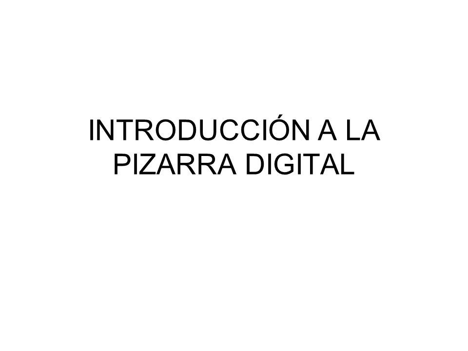 Las Pizarras Digitales Interactivas (PDI) AÑADEN A LAS PD UN TABLERO INTERACTIVO PERMITEN ESCRIBIR SOBRE ELLAS Y CONTROLARLAS CON UN PUNTERO O LOS DEDOS.