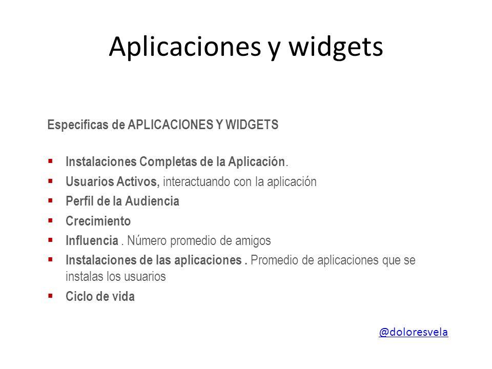 Aplicaciones y widgets Especificas de APLICACIONES Y WIDGETS Instalaciones Completas de la Aplicación.