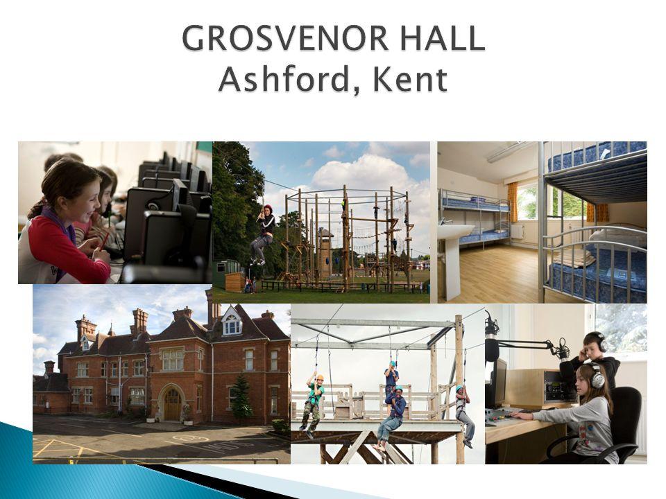 Grosvenor fue un antiguo centro de entrenamiento de la policía inglesa y hoy en día es uno de los enclaves multiaventura de más prestigio en Inglaterra.