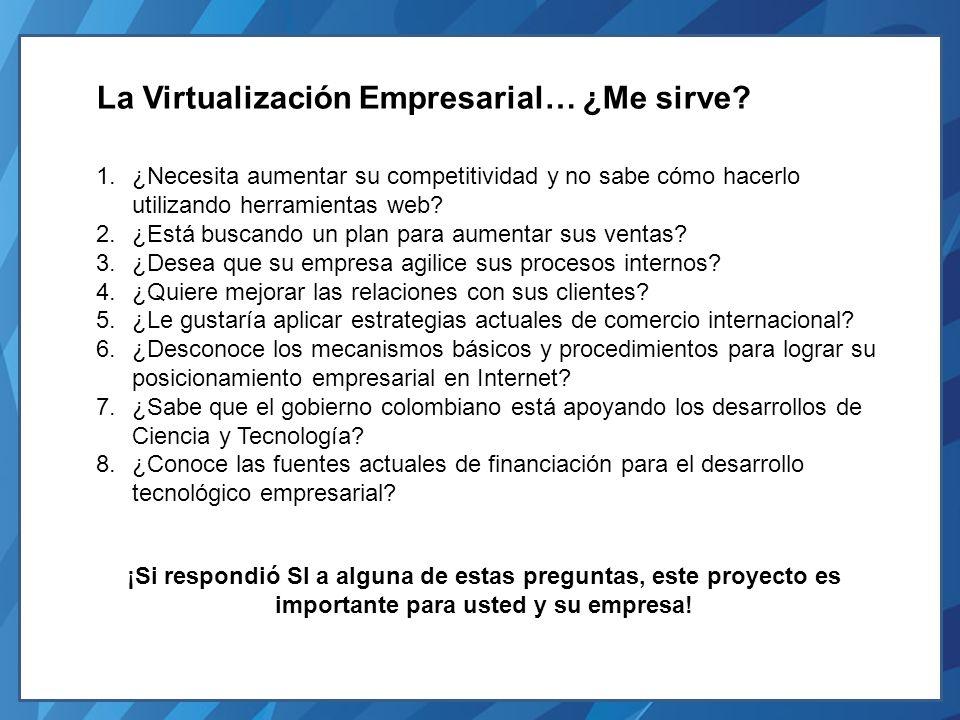 Convoca: Club de Mercadeo Virtual – http://www.clubdemercadeovirtual.com Apoya: Empresas Virtuales http://www.empresasvirtuales.com Metodología 1.