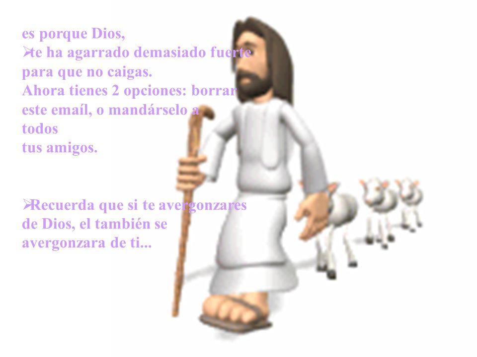 Moraleja: Nosotros también tenemos cicatrices de un pasado doloroso. > Algunas son causadas por nuestros pecados, pero algunas son la huella de Dios q