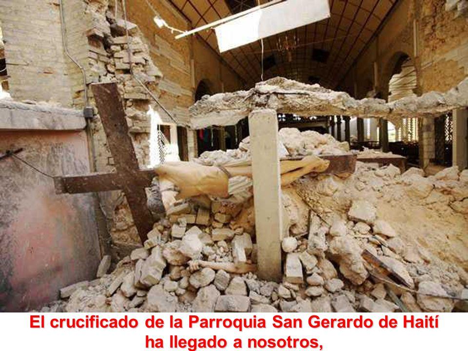 ÚLTIMAS NOTICIAS Terremoto en Haití La escuela se ha hundido con unos 300 niños dentro.