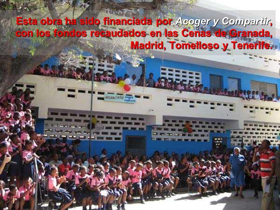 inauguración de la Escuela San Gerardo en Puerto Príncipe