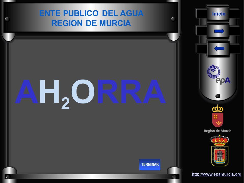 Inicio http://www.epamurcia.org ENTE PUBLICO DEL AGUA REGION DE MURCIA AH 2 ORRA TERMINAR