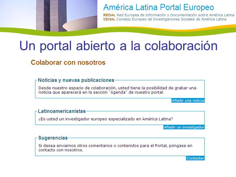 Un portal abierto a la colaboración