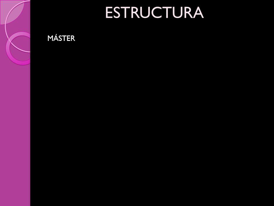 MÁSTER ESTRUCTURA