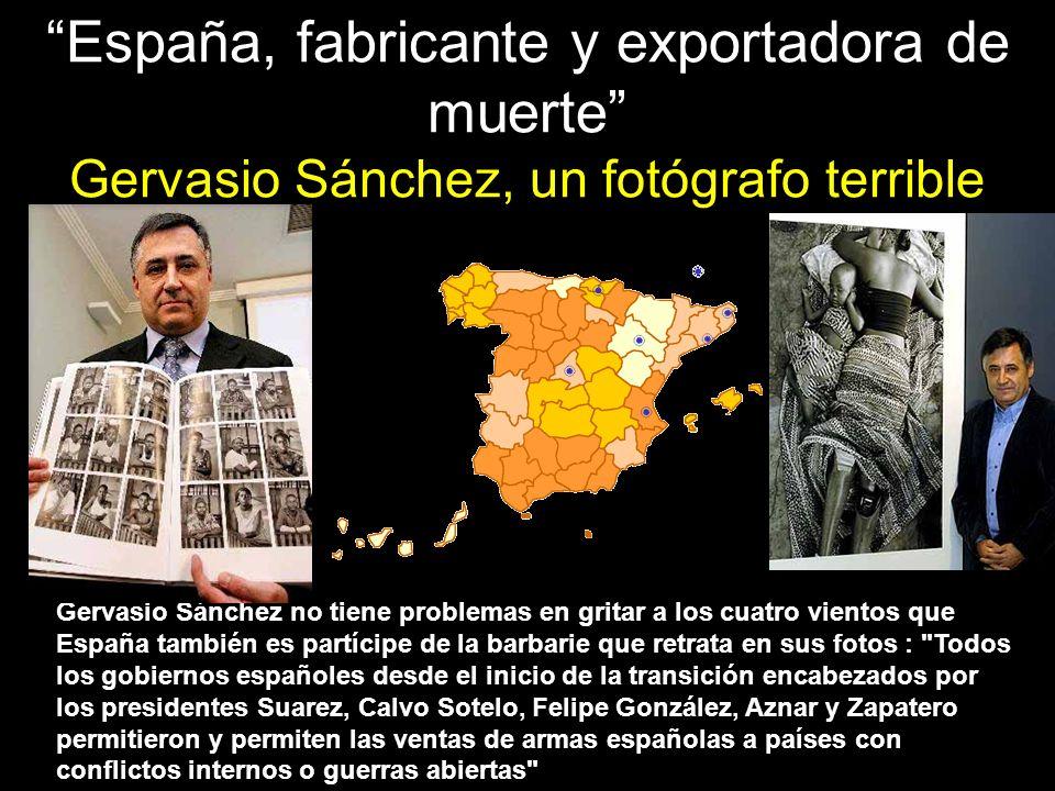 El fotoperiodista Gervasio Sánchez lleva años denunciando la cara más cruel de los conflictos bélicos.