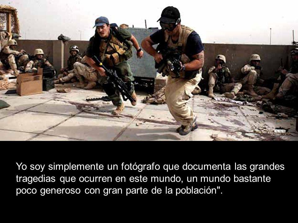 Cada víctima de la guerra tiene derecho a contar su drama.