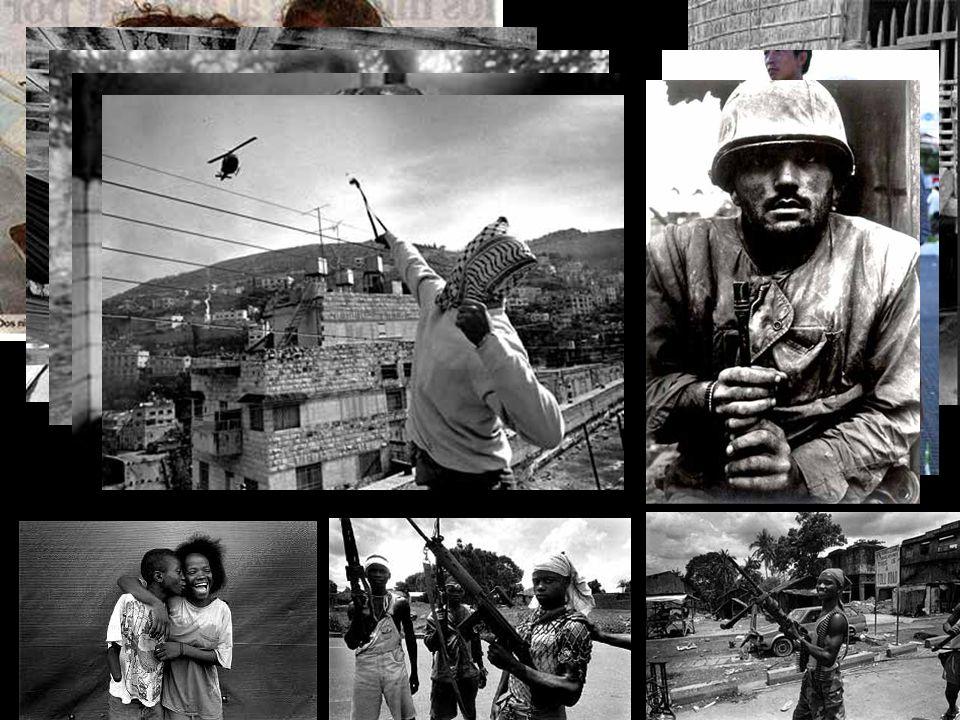 Yo soy simplemente un fotógrafo que documenta las grandes tragedias que ocurren en este mundo, un mundo bastante poco generoso con gran parte de la población .