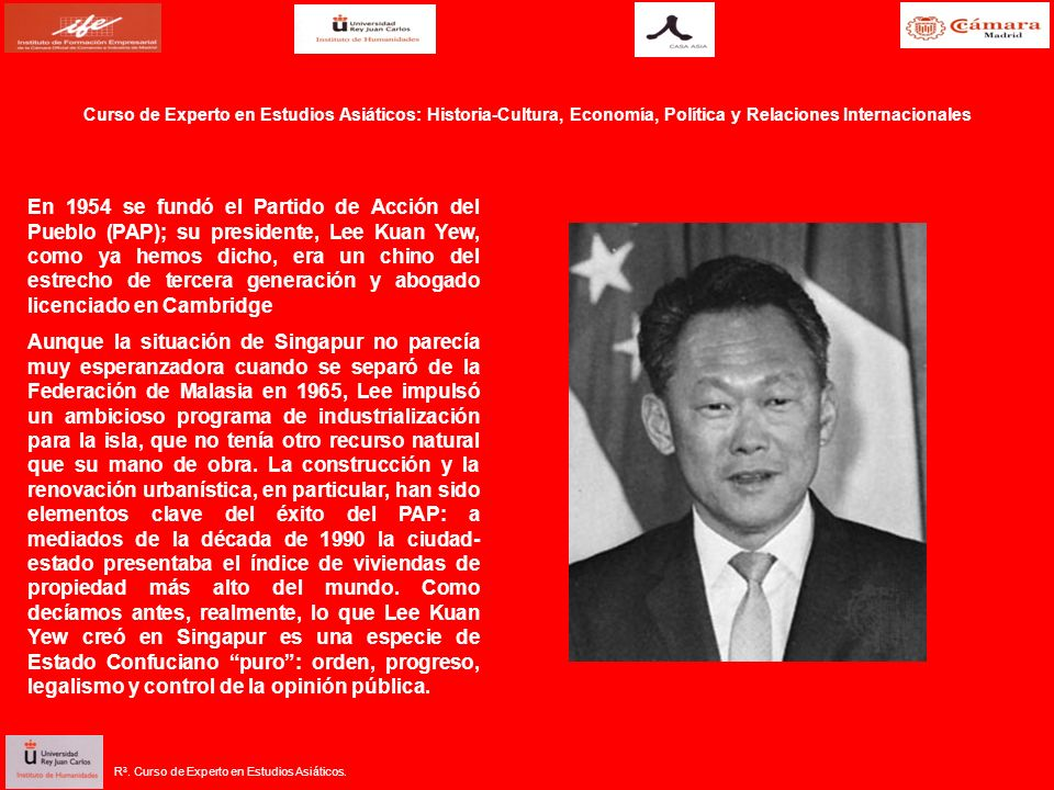 Curso de Experto en Estudios Asiáticos: Historia-Cultura, Economía, Política y Relaciones Internacionales R 3.