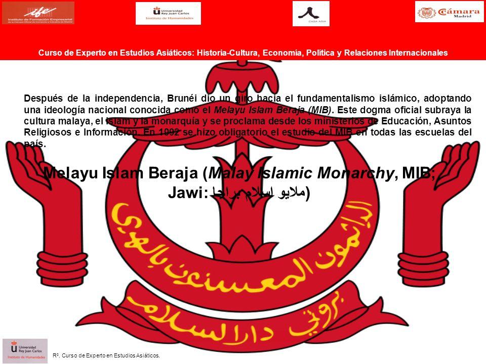 Después de la independencia, Brunéi dio un giro hacia el fundamentalismo islámico, adoptando una ideología nacional conocida como el Melayu Islam Beraja (MIB).