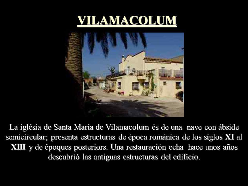 La Iglesia de Sant Esteve de Vilacolum es un edificio del siglo XVIII que conserva elementos de un templo más antiguo, de època alta- medieval, posibl