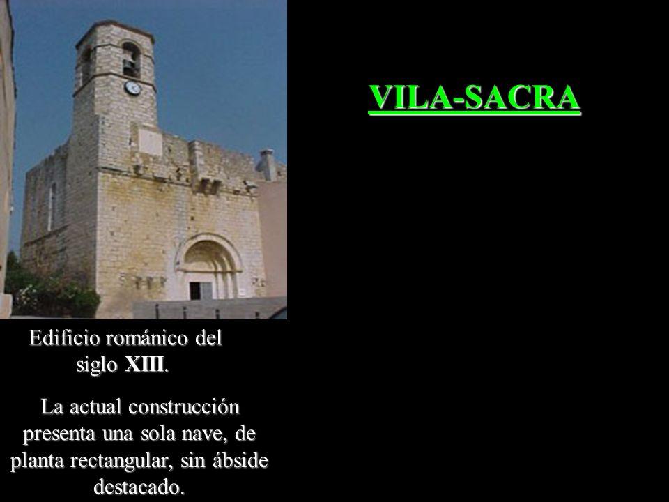 Iglésia de Santa Maria. Templo de origen pre- románico de planta basilical, documentado el año 1018. VILANANT