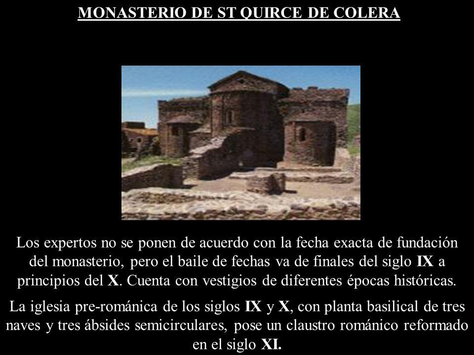 Los expertos no se ponen de acuerdo con la fecha exacta de fundación del monasterio, pero el baile de fechas va de finales del siglo IX a principios del X.