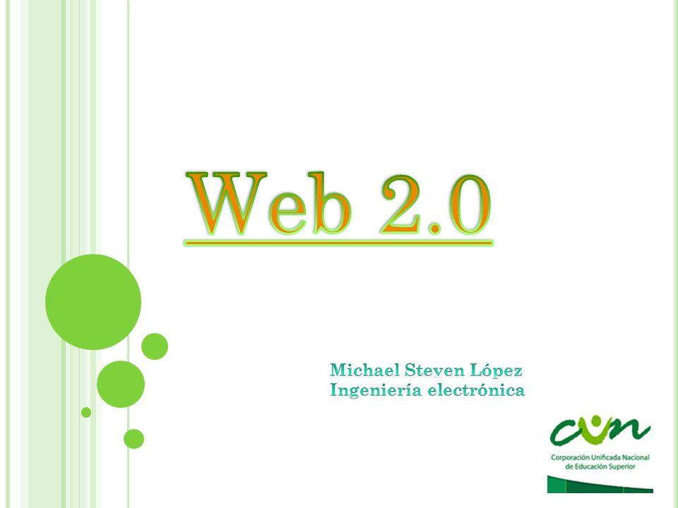 Que es web 2.0 Características de la web 2.0 Aplicaciones de la web 2.0 Implicaciones educativas de la web 2.0 Blogs, weblogs, bitácoras Wikis Usos didácticos blogs y wikis Modelos didácticos blogs y wikis Entornos para compartir recuersos Redes sociales/comunidades virtuales Casos exitosos de negocios de la web 2.0