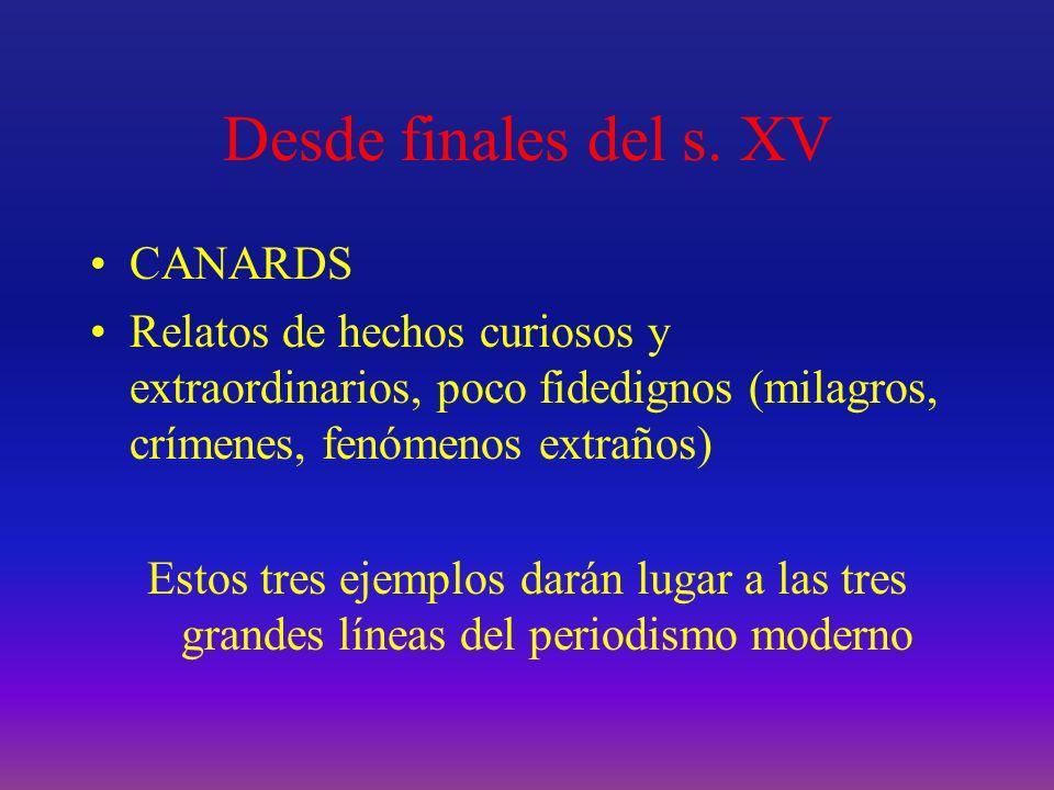 s.XV y s.