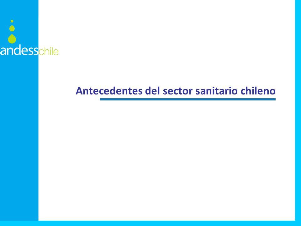Antecedentes del sector sanitario chileno