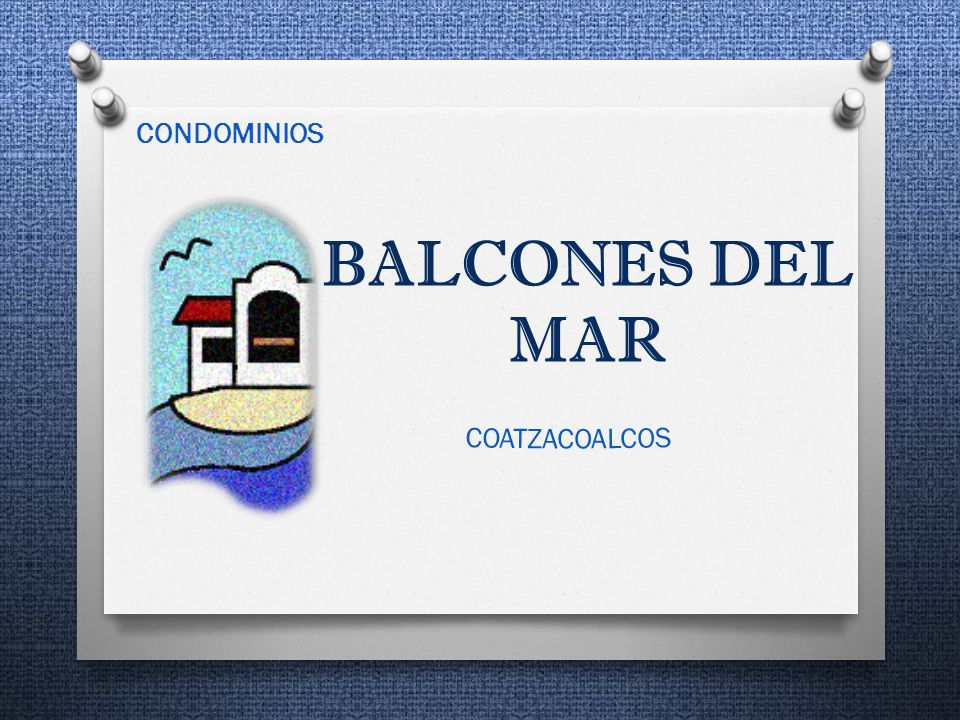 BALCONES DEL MAR CONDOMINIOS