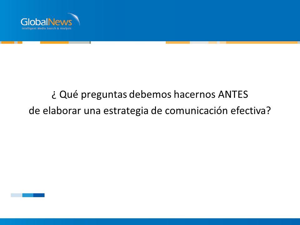 – Comunicación Interna ¿Compartimos información las distintas áreas de nuestra empresa?