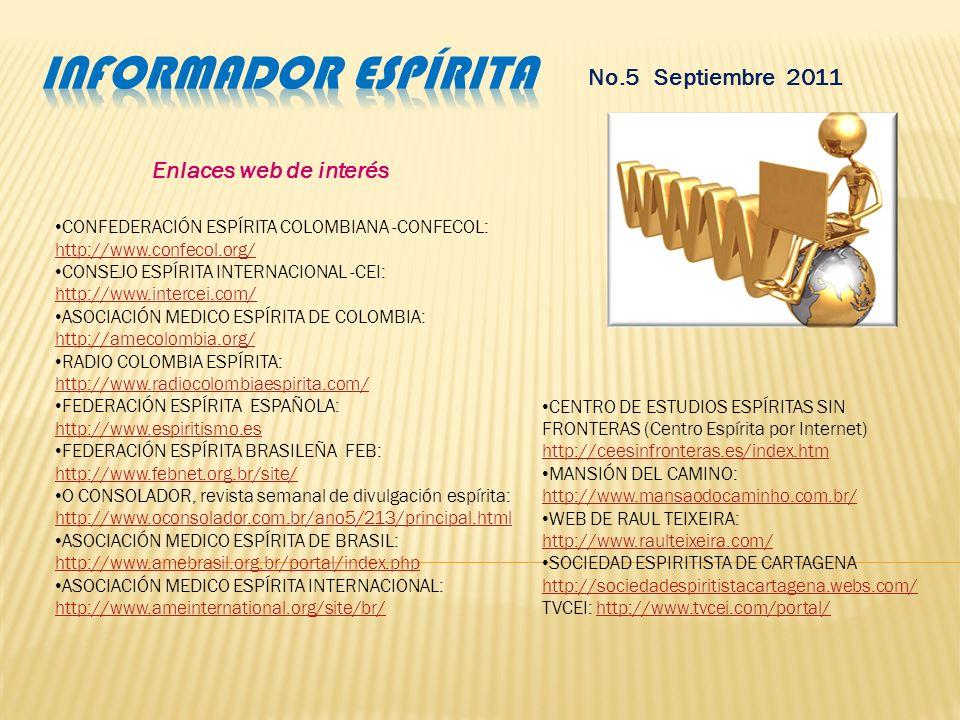 No.5 Septiembre 2011 Jose Augusto Castro Chagas Bezerra de Menezes Spiritist Center Departamento de Estudos e Formacao de Trabalhadores Wednesday, Sep