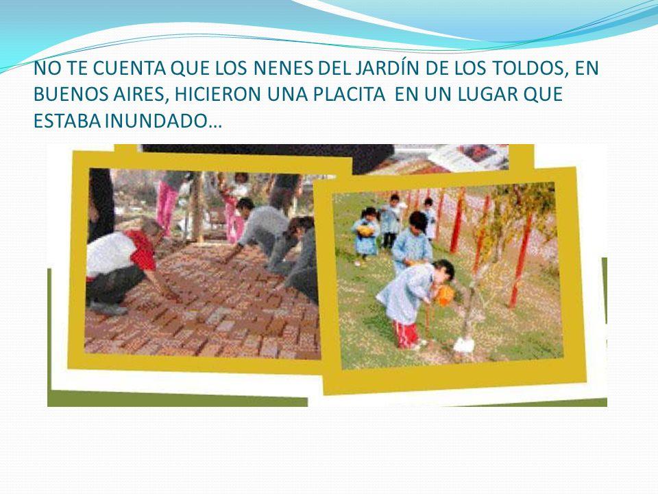 Ni de los momentos que comparten los alumnos del Colegio Virgen de Itatí, con los chicos del Anexo de la Escuela Nº657…