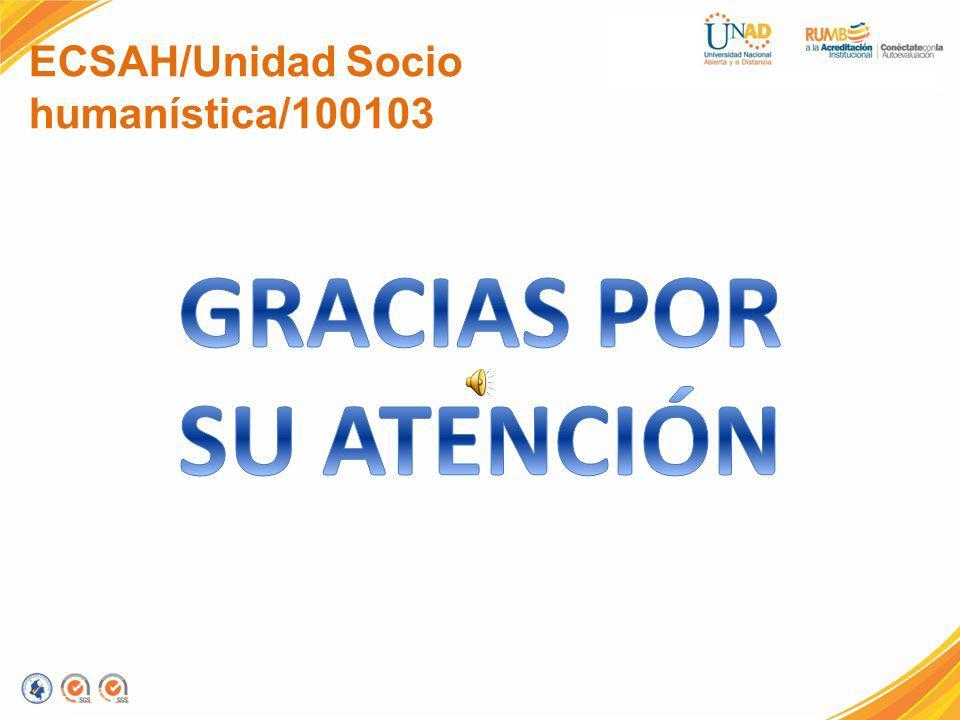 ECSAH/Unidad Socio humanística/100103