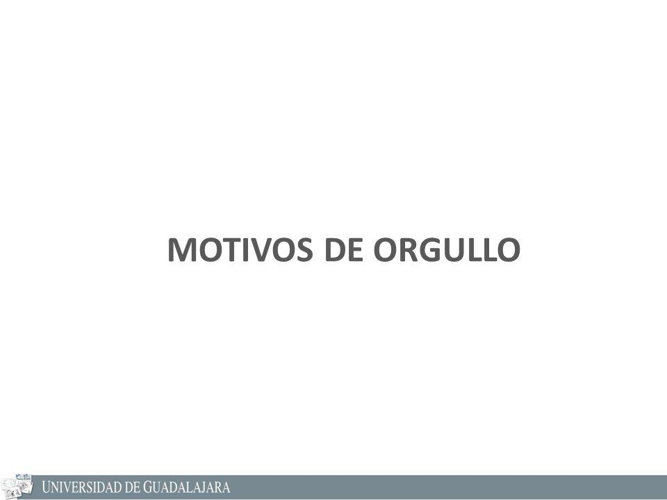 MOTIVOS DE ORGULLO