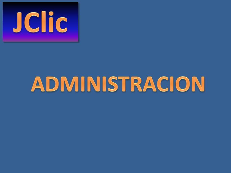 JClic almacena toda la actividad de los alumnos en una base de datos con información por : Alumno Grupo de alumnos Proyecto Actividad Y de allí se obtiene información en línea o reportes