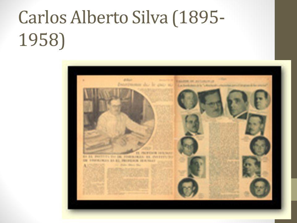 Carlos Alberto Silva (1895- 1958)