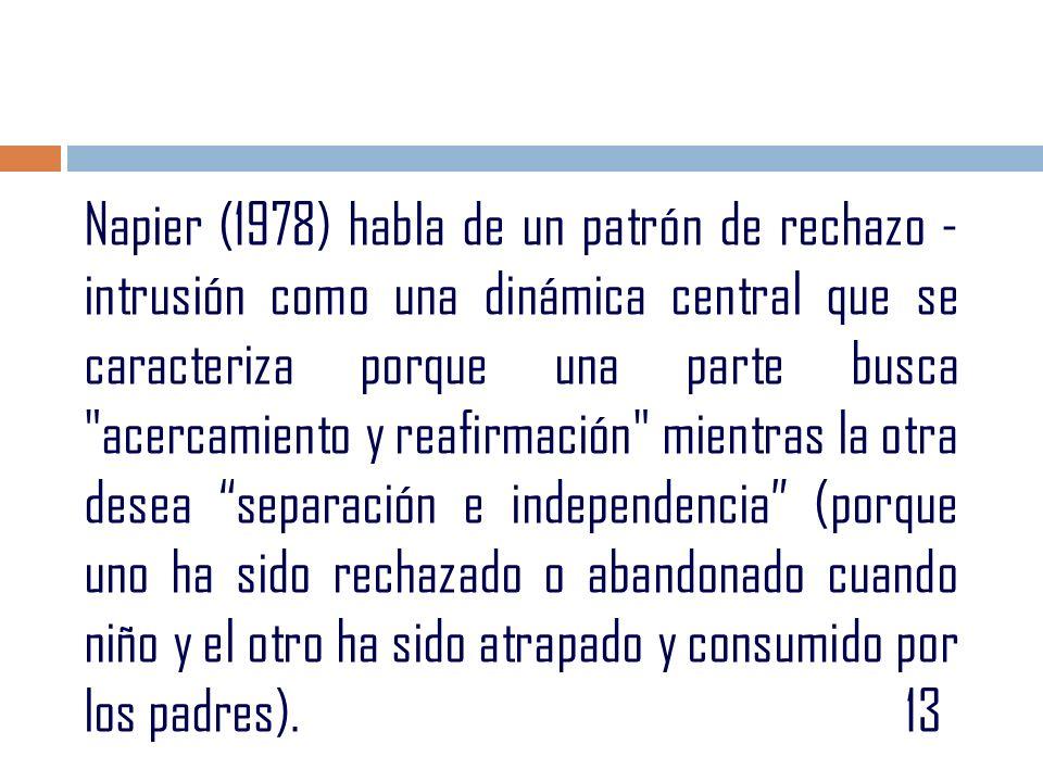 Kessler (1978): identifica la crisis como pérdida de ilusión, Erosión, Distanciamiento, Separación física, Duelo y Trabajo duro.