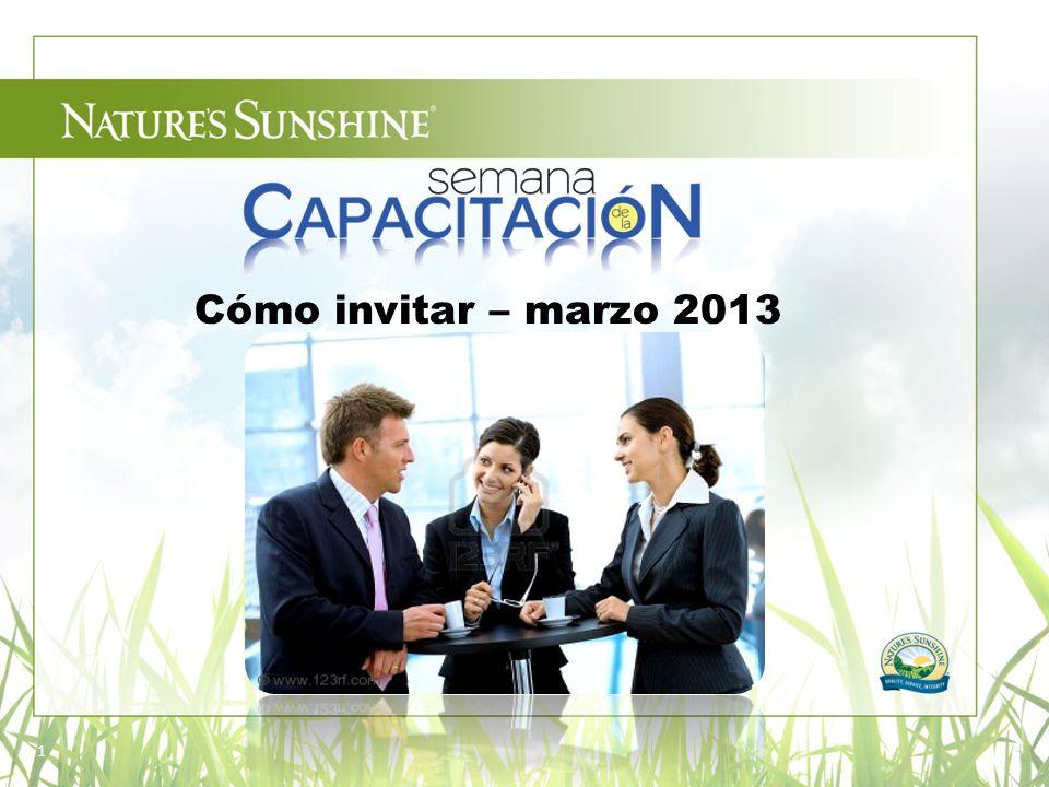 Cómo invitar – marzo 2013 1