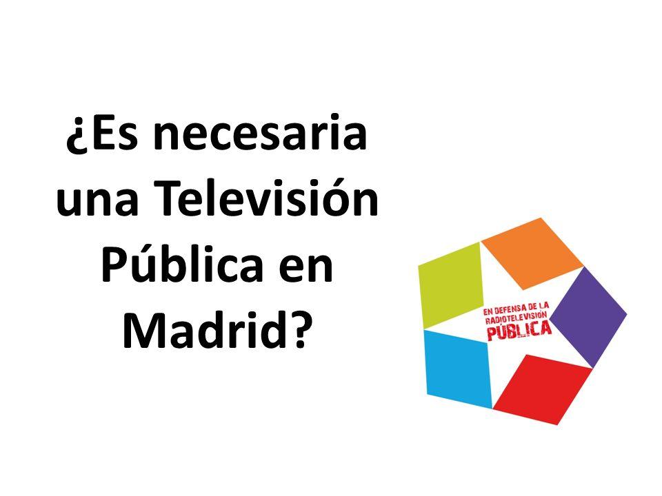 Entre otras cosas los trabajadores hemos… -Denunciado la manipulación de Telemadrid ante la sociedad y la Unión Europea desde el año 2004.
