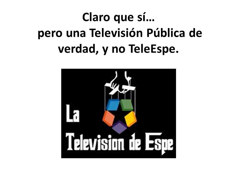 ¿Es necesaria una Televisión Pública en Madrid