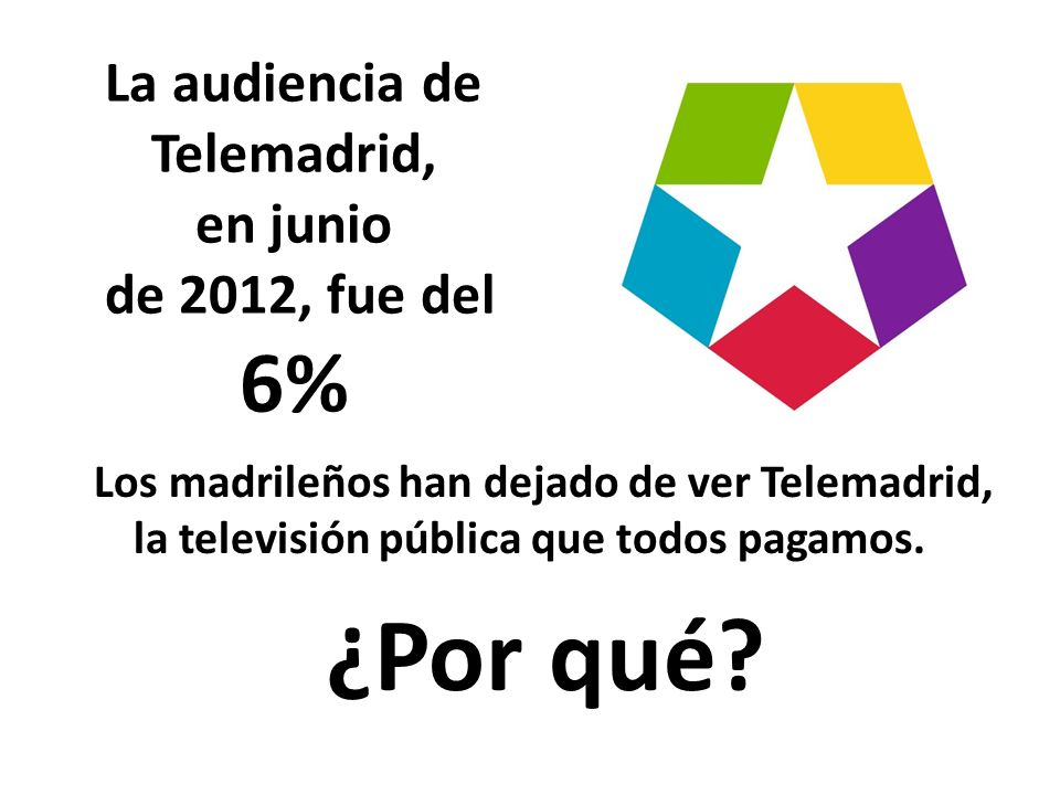 http://www.elpais.com/articulo/madrid/Telemadrid/partidista/creen/elpepiespmad/20100502elpmad_8/Tes ¿Y qué ha pasado con la audiencia en estos últimos años
