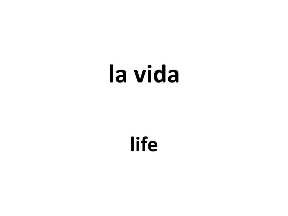 la vida life