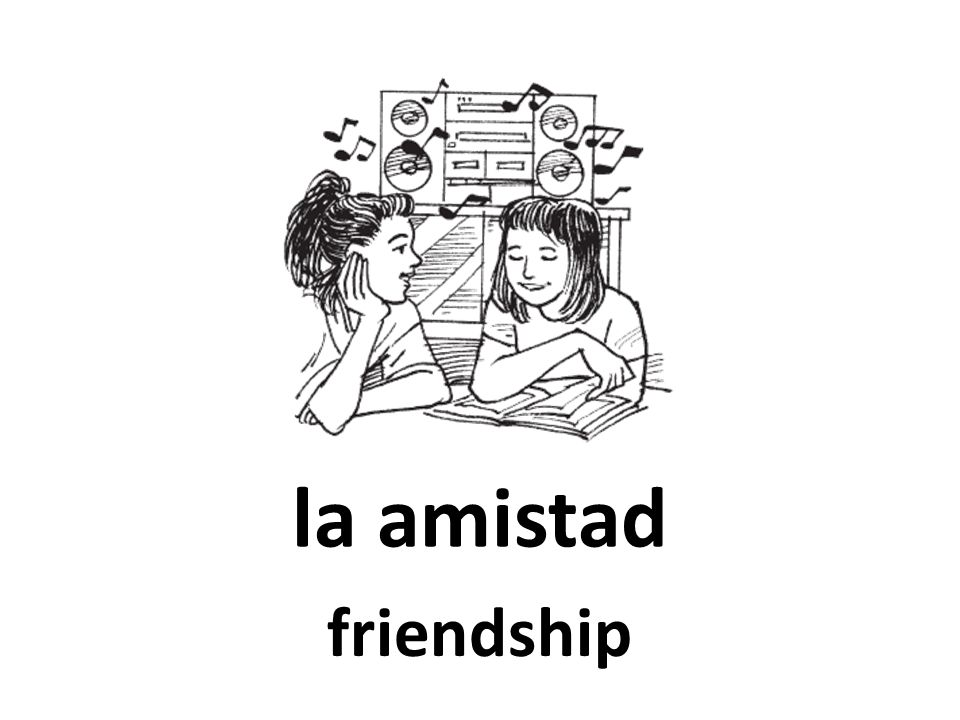 la amistad friendship