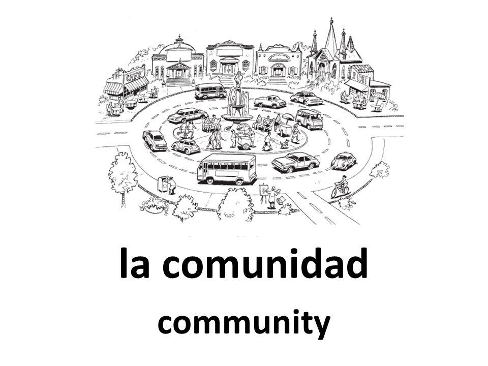 la comunidad community