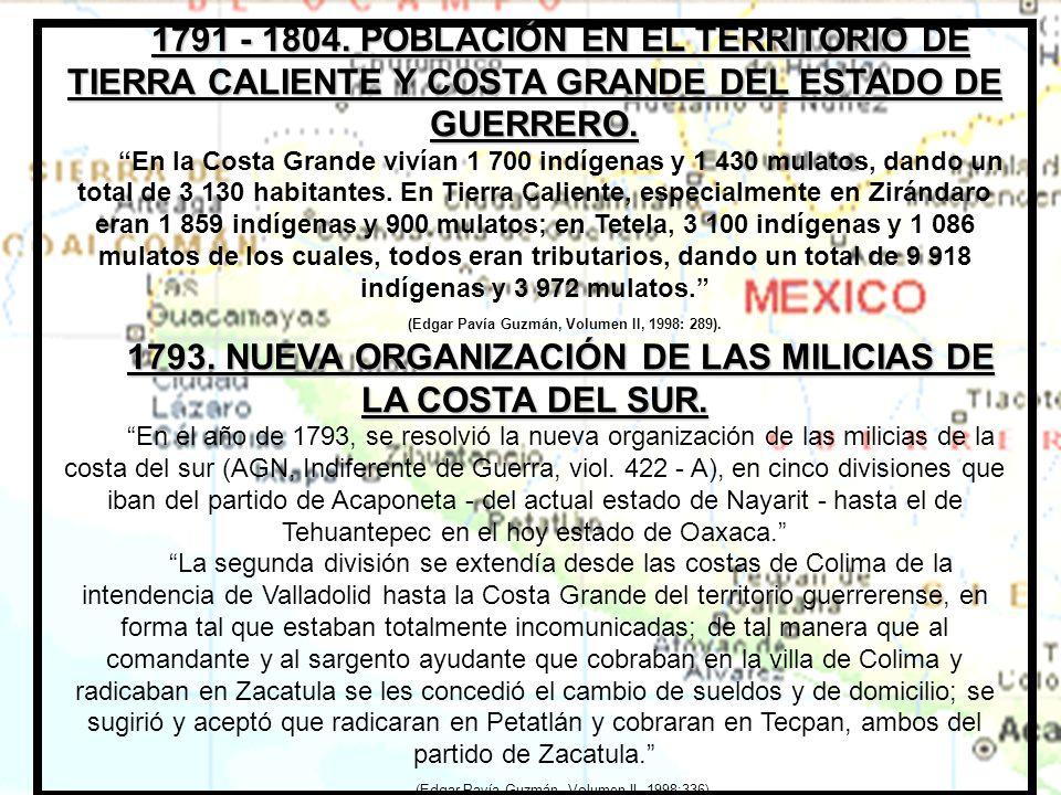 1.- Coahuayutla de José María Izazaga 1790 a 1792.