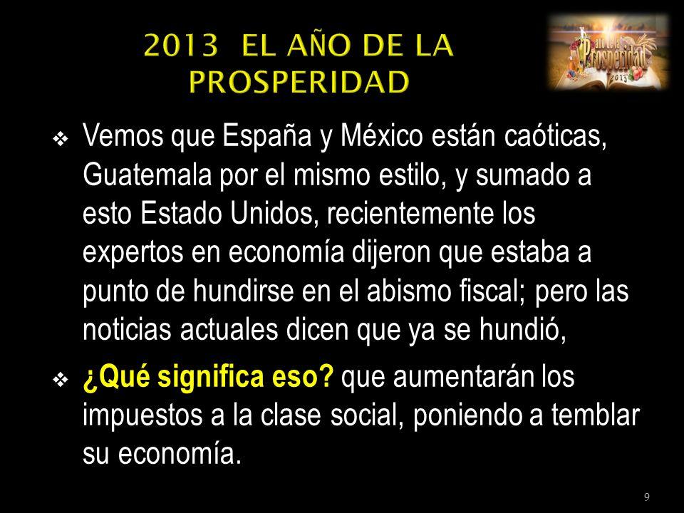 Vemos que España y México están caóticas, Guatemala por el mismo estilo, y sumado a esto Estado Unidos, recientemente los expertos en economía dijeron que estaba a punto de hundirse en el abismo fiscal; pero las noticias actuales dicen que ya se hundió, ¿Qué significa eso.