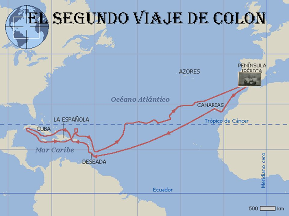 En el segundo viaje de Colon El 29 de mayo de 1.493, Colón recibió instrucciones reales, según las cuales el primer objetivo de la nueva expedición era la conversión de los nativos y el segundo la explotación económica del descubrimiento.