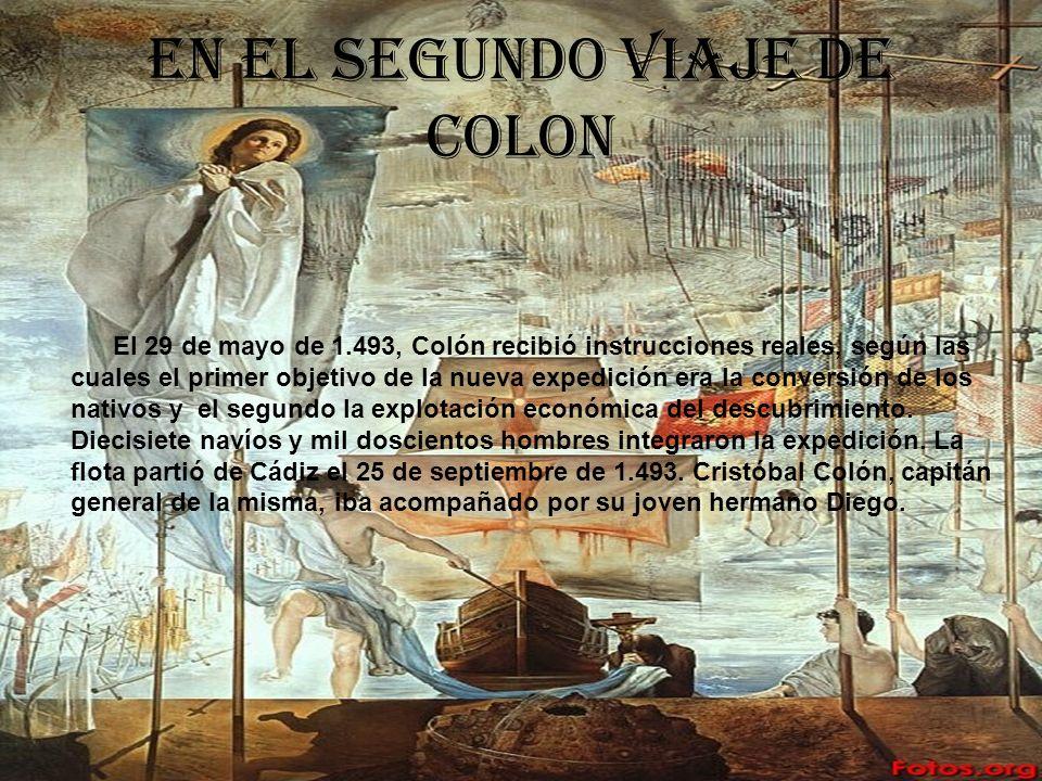 El tercer viaje de Colón El tercer viaje de Colon