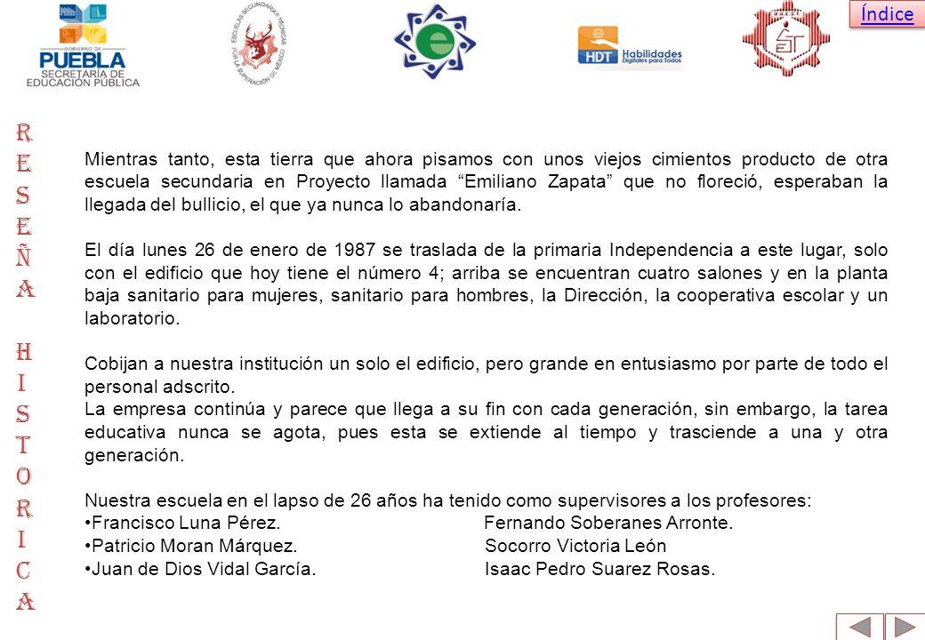 Índice Como Directores los profesores: Gonzalo Rodríguez Poanta.