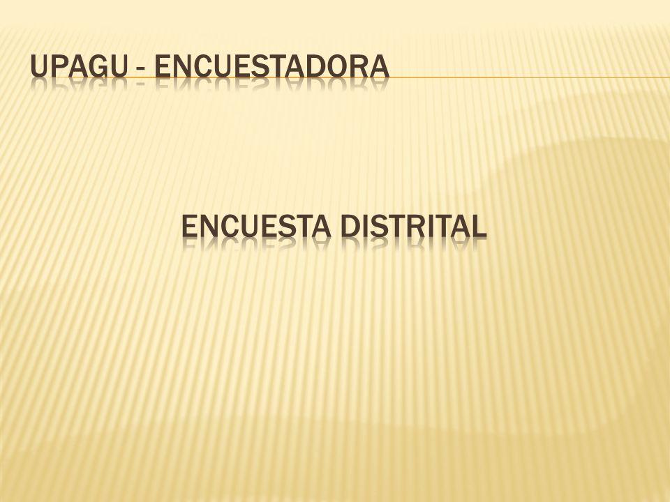 Total :100 % Total entrevistados : 384 Encuestados en el distrito de Cajamarca