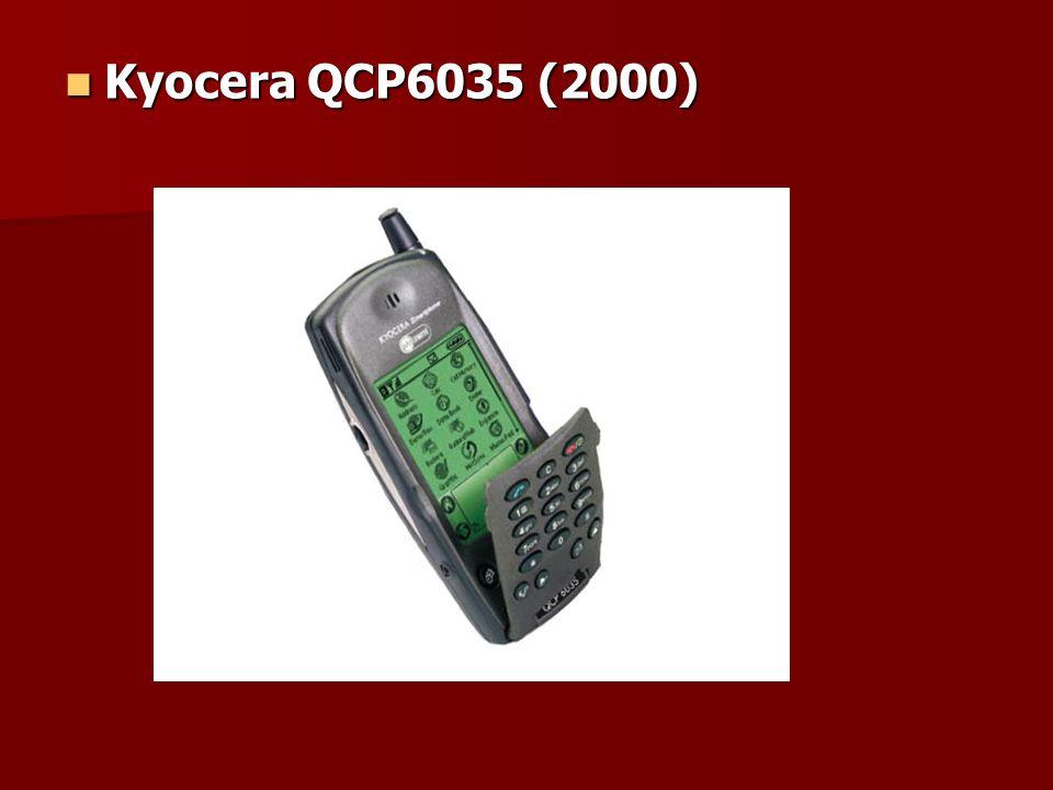 Kyocera QCP6035 (2000) Kyocera QCP6035 (2000)