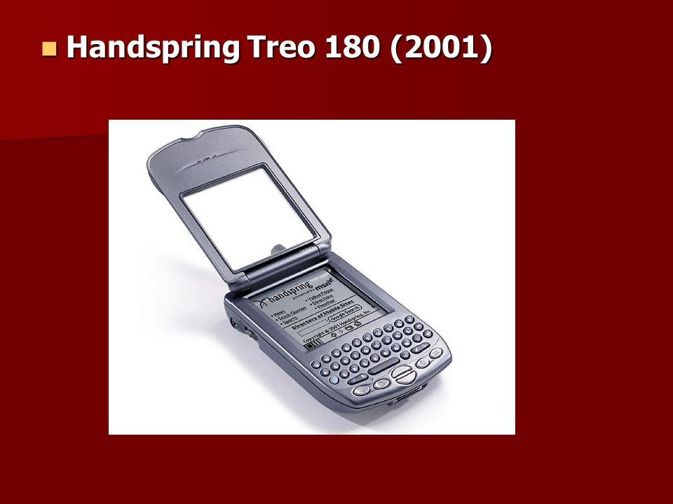 Handspring Treo 180 (2001) Handspring Treo 180 (2001)