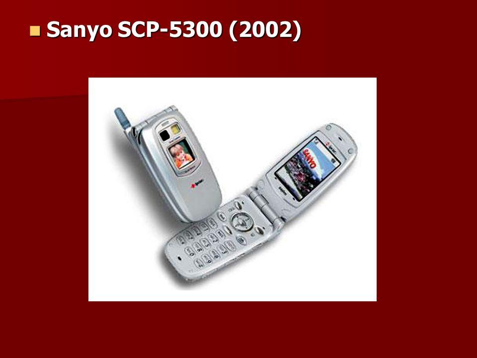 Sanyo SCP-5300 (2002) Sanyo SCP-5300 (2002)