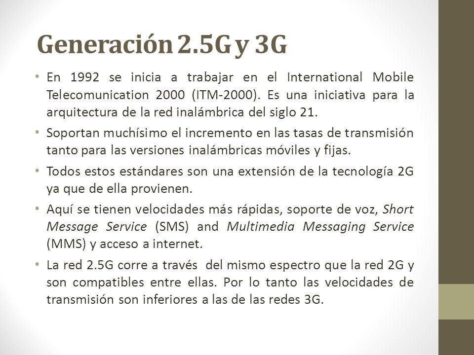 En 1992 se inicia a trabajar en el International Mobile Telecomunication 2000 (ITM-2000). Es una iniciativa para la arquitectura de la red inalámbrica